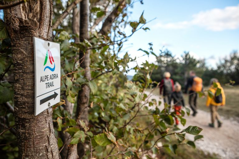 ALPE ADRIA TRAIL: <br> from the Karst paths to the sea