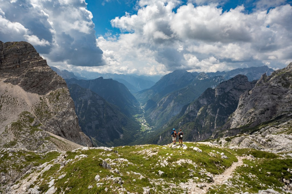 MaroWays Breath-taking view of the Soča Valley from the Vršič mountain pass