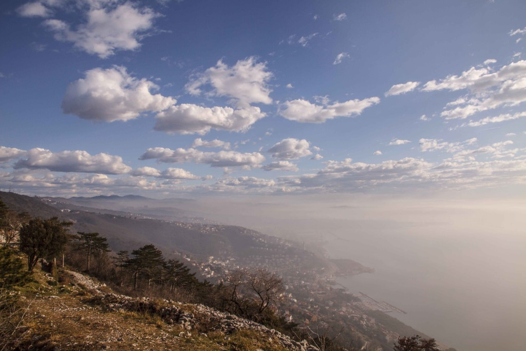 MaroWays Breath-taking view of the Adriatic and the city of Trieste