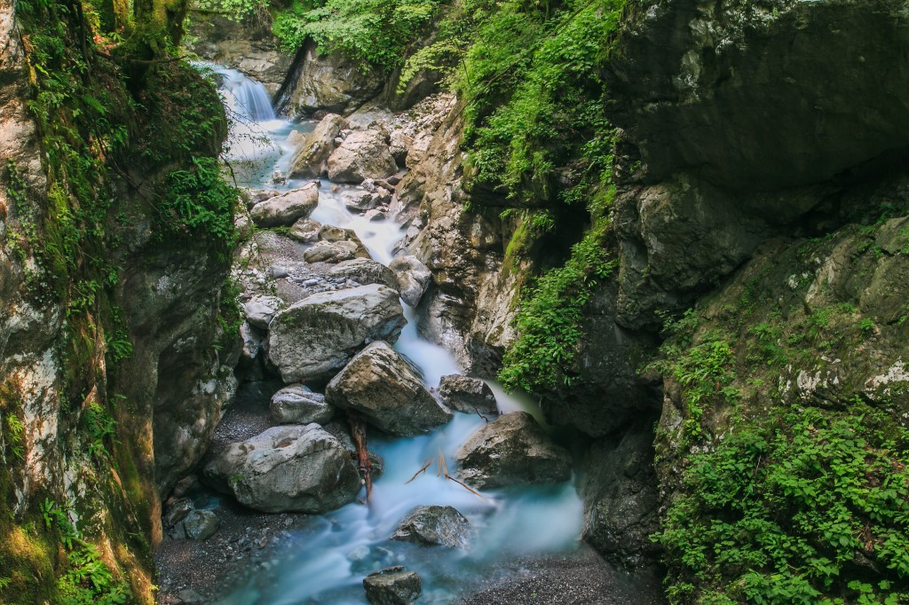 MaroWays Tolmin Gorges, considered to be one of Slovenia's most beautiful natural wonders