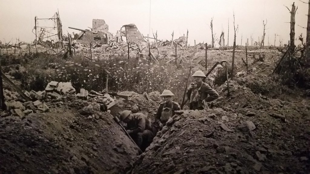 MaroWays Soldiers in the trenches during the First World War